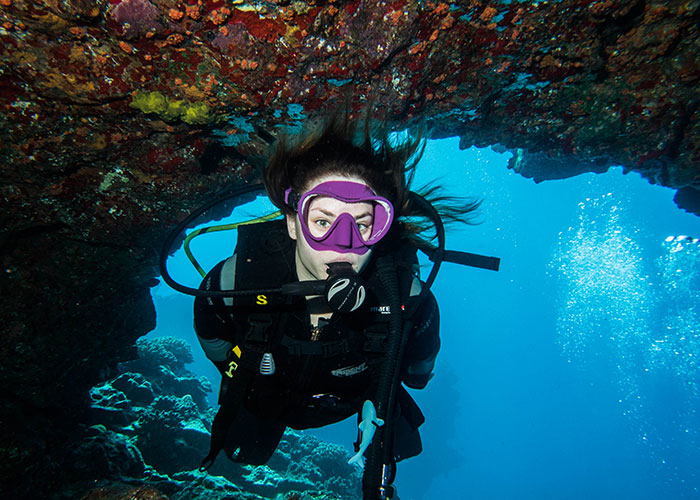 learn how to dive in maui, scuba certification